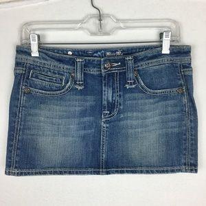 Miss Me Denim Mini Skirt size Medium